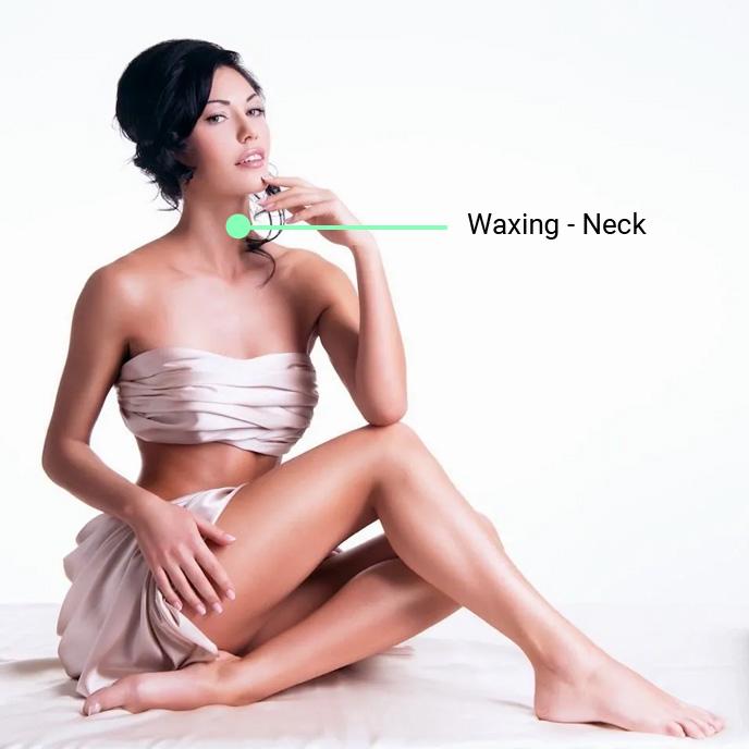 waxing neck 1